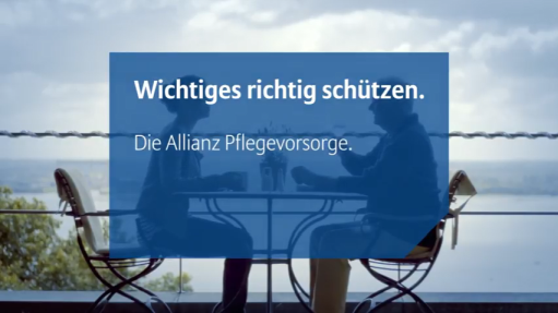 Video zur Allianz Pflegevorsorge