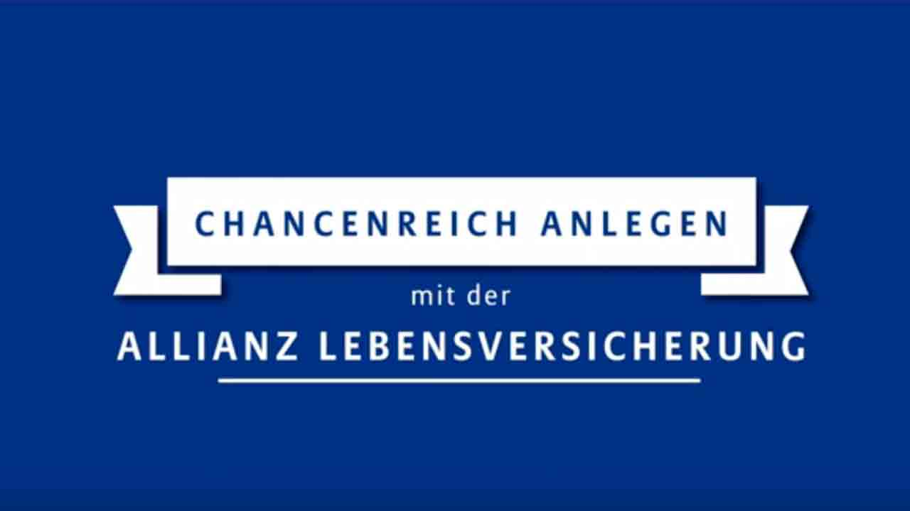 Video: Allianz Lebensversicherung