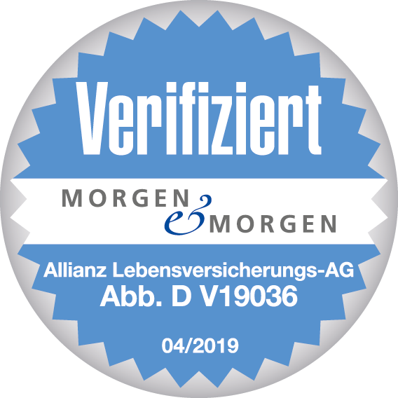 Allianz - Verifizierungssiegel Morgen & Morgen